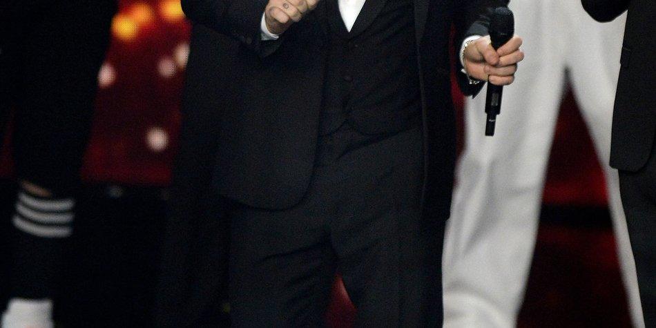 Robbie Williams findet deutsche Frauen im Bett super