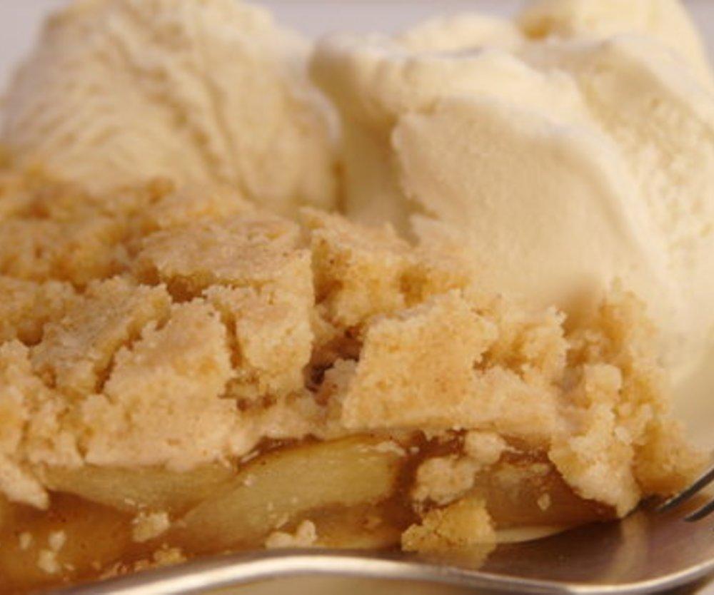 Schneller Apfelkuchen mit Streusel