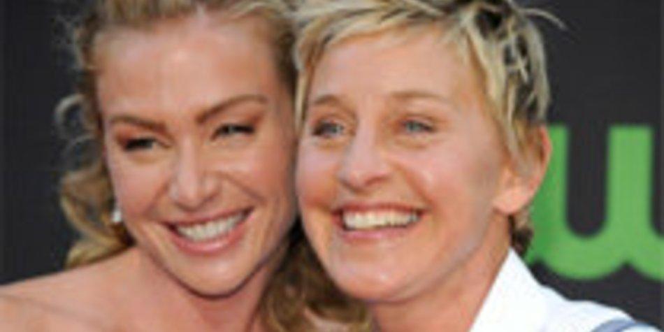 Ellen DeGeneres: Ehefrau will ihren Nachnamen annehmen