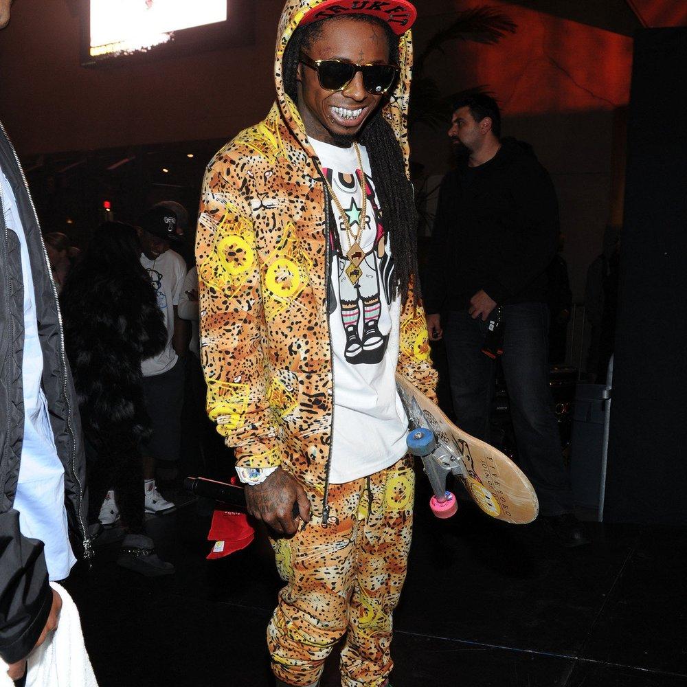 Lil Wayne geht in seiner Vaterrolle voll auf!