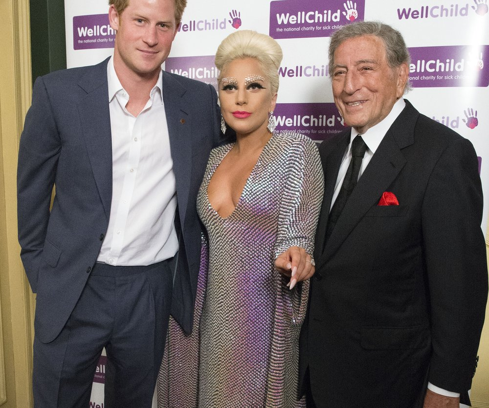 Prinz Harry trifft Lady Gaga