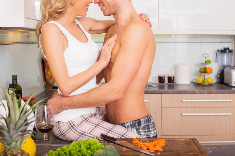 Sex auf dem küchentisch