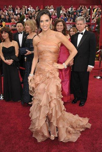 Demi Moore auf der Oscar-Verleihung 2010