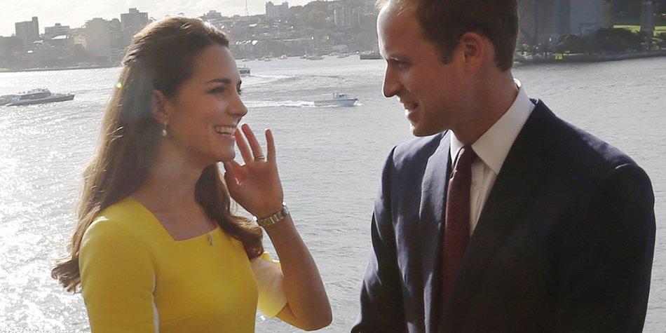 """Kate Middleton und Prinz William sind im """"Baby-Modus"""""""