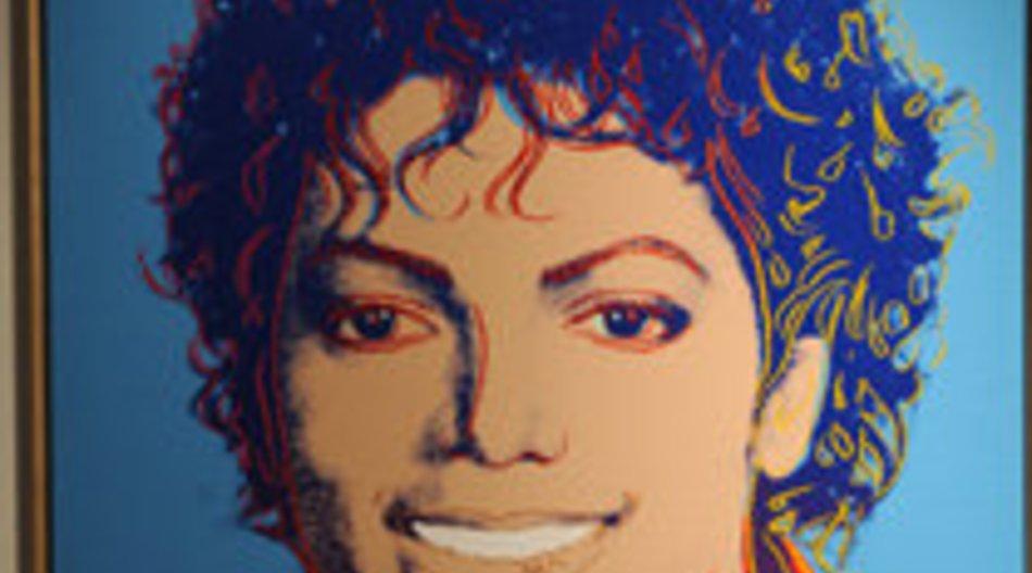Michael Jackson: Warhol-Portrait versteigert