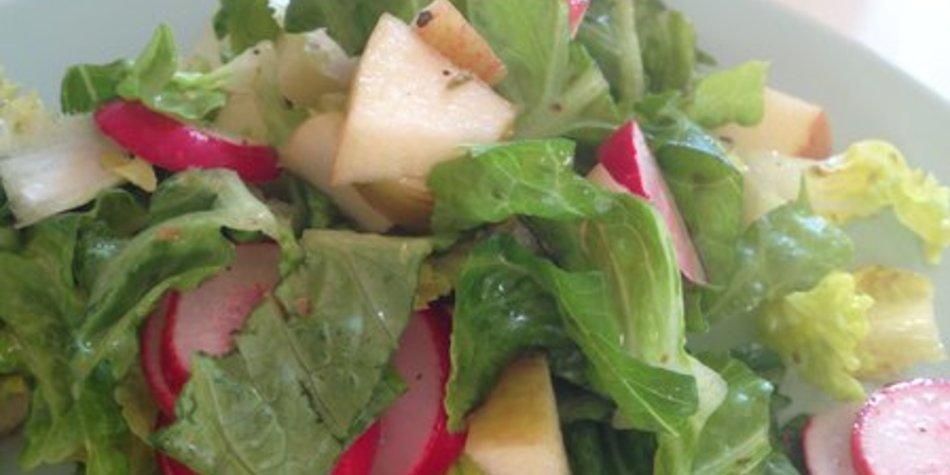 Dressing grüner Salat