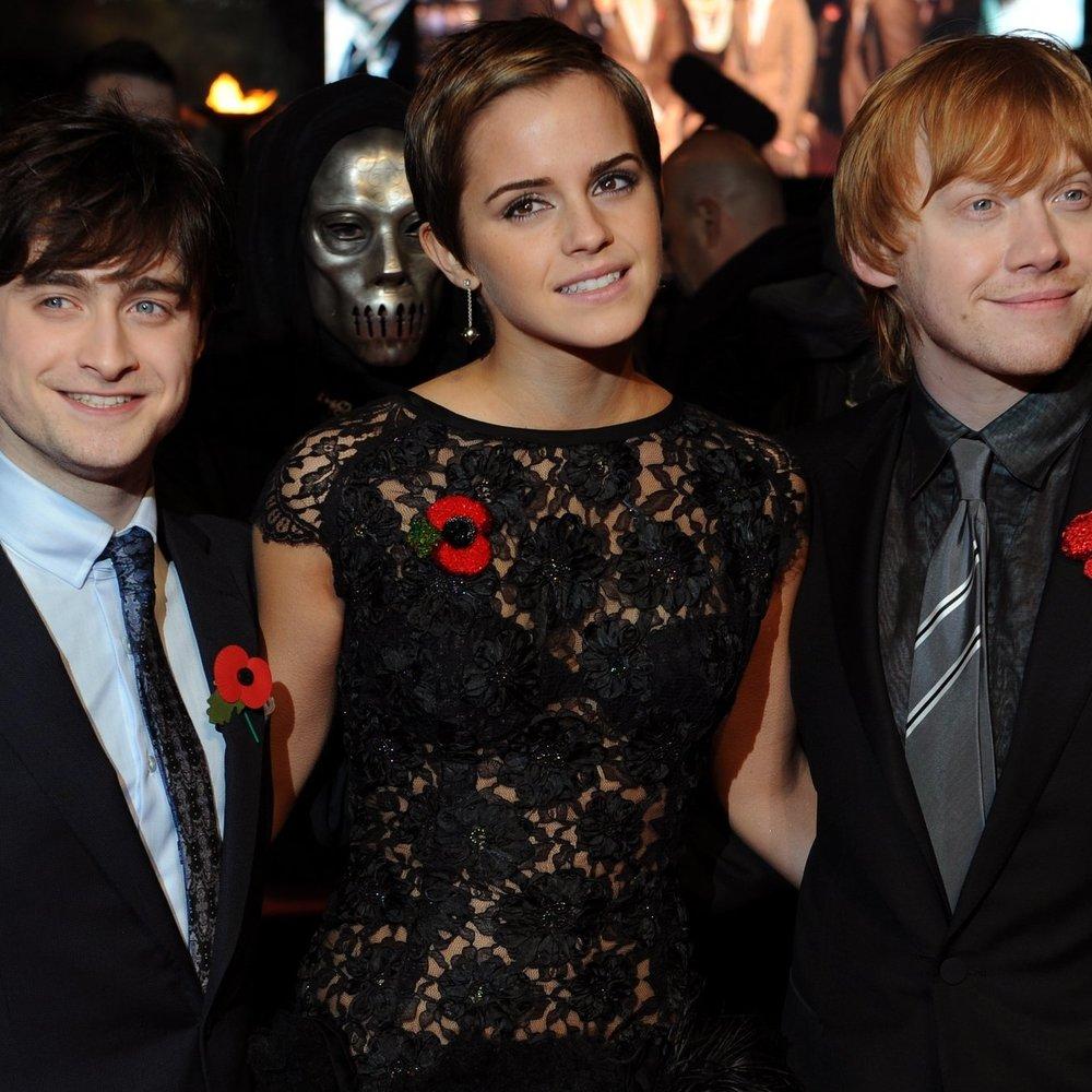 Daniel Radcliffe und Rupert Grint haben sich noch lieb