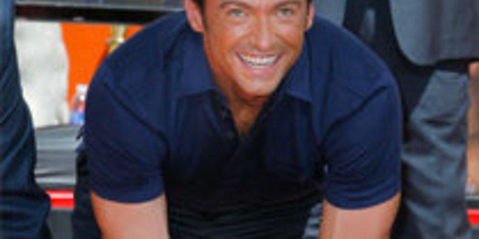 Hugh Jackman verewigt sich auf dem Walk of Fame