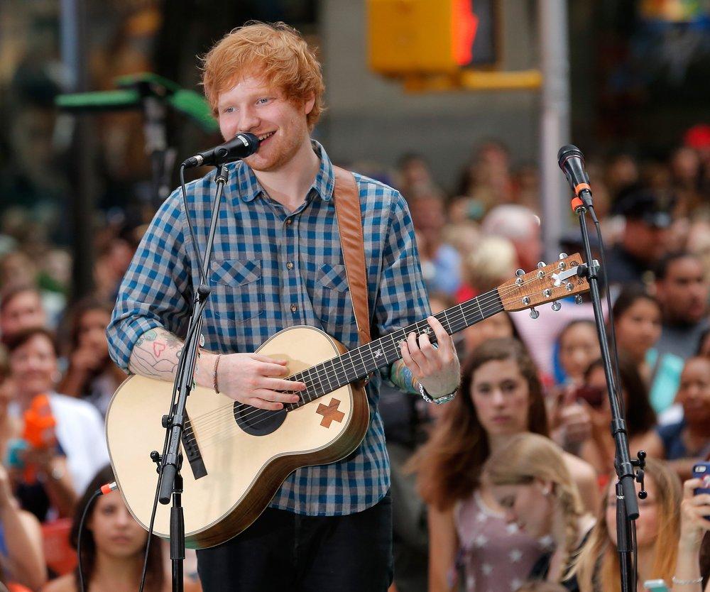 Ed Sheeran ist unzufrieden mit seinem Äußeren