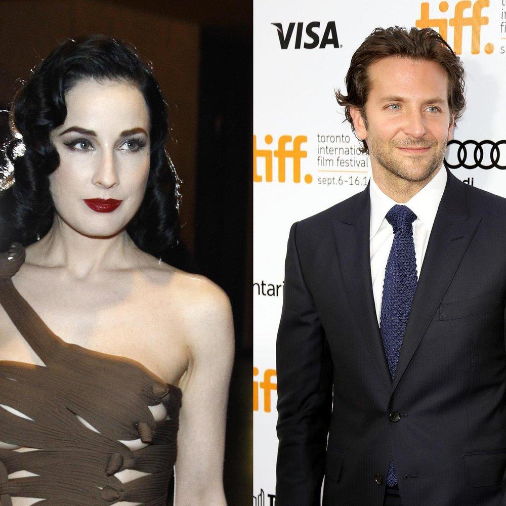 Bradley Cooper lässt Dita Von Teese abblitzen