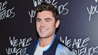 "CHICAGO, IL - AUGUST 19: Zac Efron attends the Chicago premiere of ""We Are Your Friends"" at Showplace Icon Theater on August 19, 2015 in Chicago, Illinois. (Photo by Timothy Hiatt/Getty Images)"