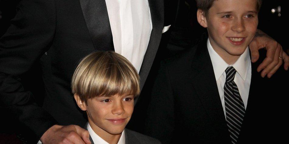 David Beckham: Söhne schämen sich