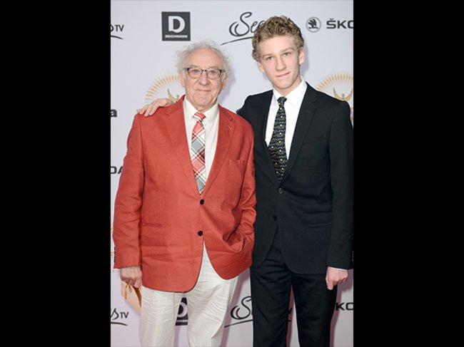 Dieter Hallervorden und Sohn