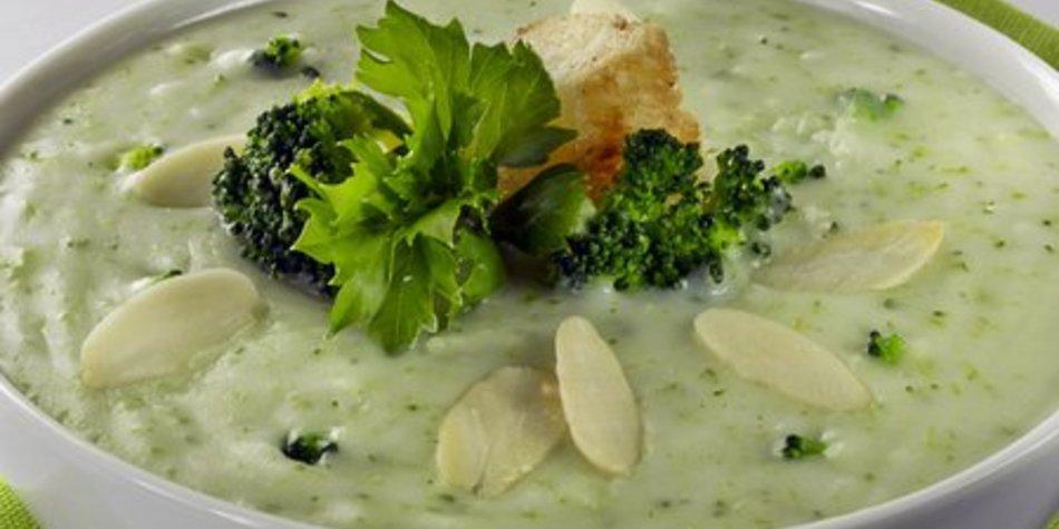 Brokkolisuppe, fettarm