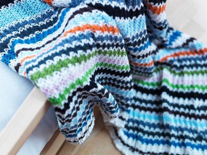 Die Wolldecke von IKEA als Geschenk zum Muttertag