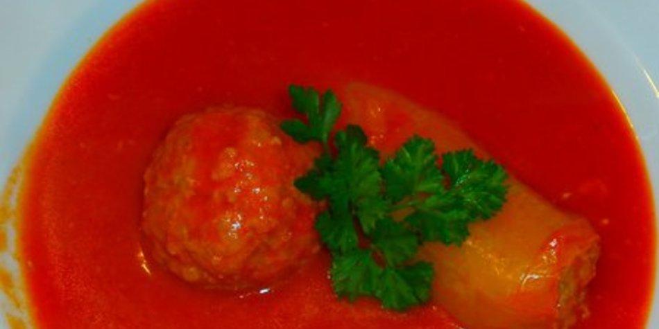 gefüllte Paprika nach Uroma maria