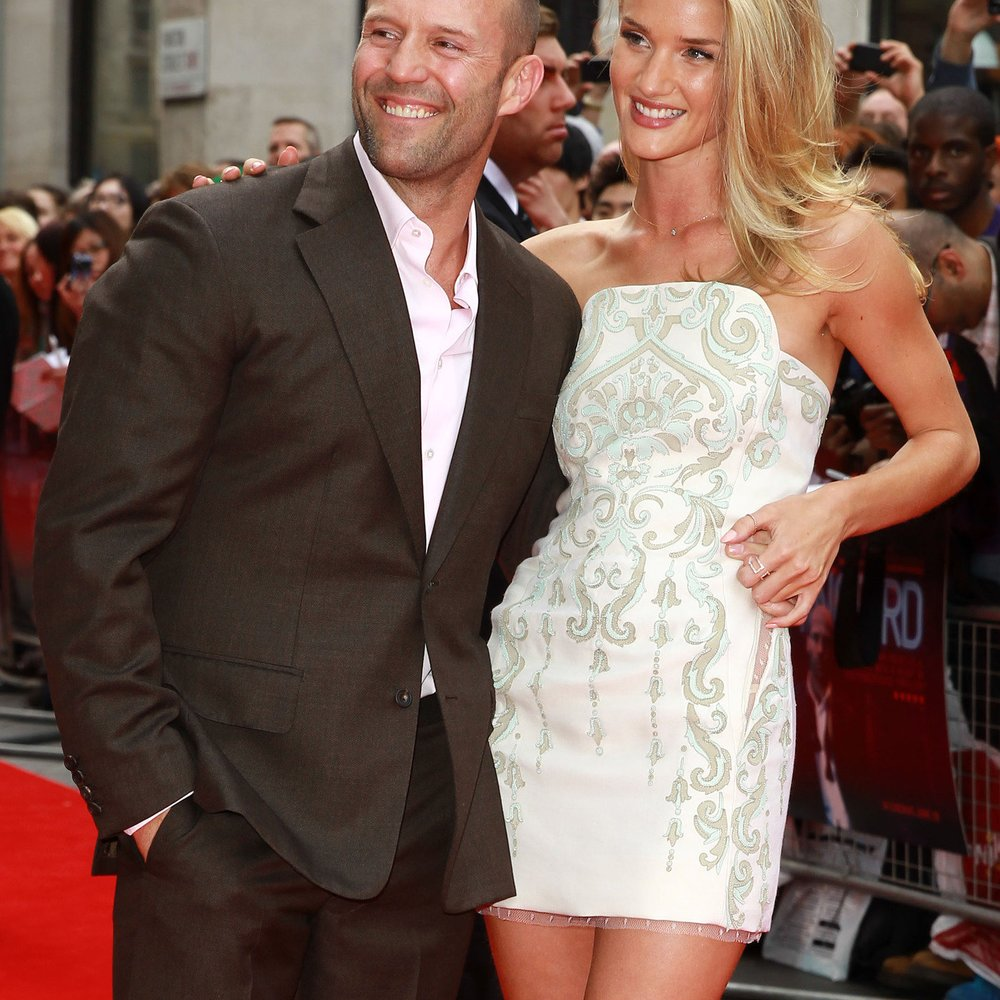 Rosie Huntington-Whiteley: Heiratet sie Jason Statham?