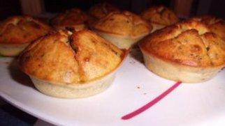 Rustikale Roquefort Muffins