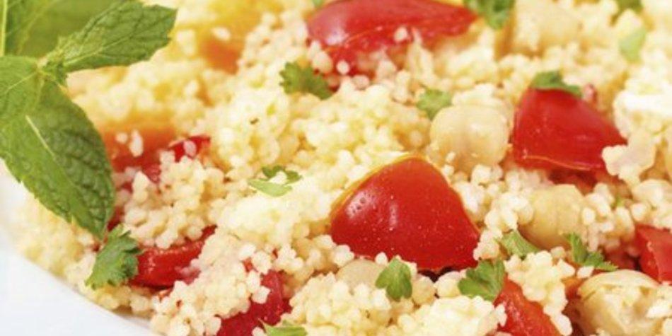 Couscous Salat Minze