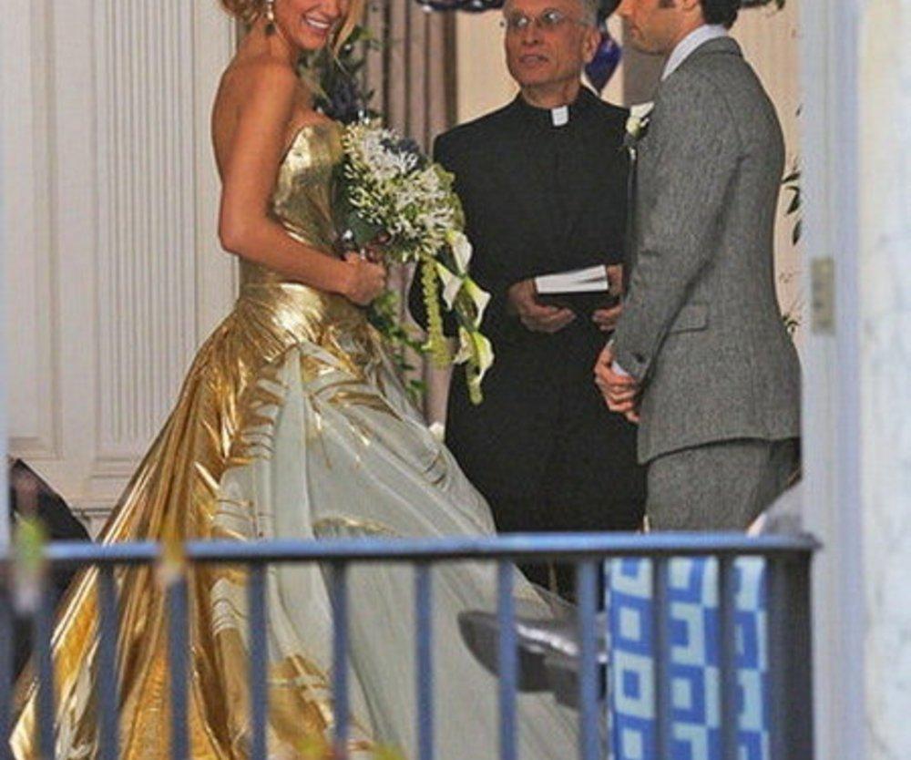 Blake Lively im Hochzeitskleid