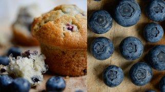 vegane Blaubeer-Muffins