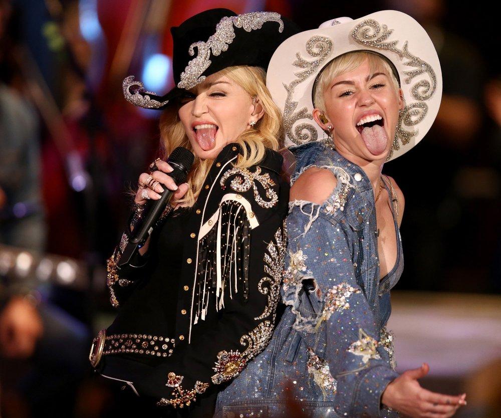 Miley Cyrus und Madonna arbeiten wieder zusammen