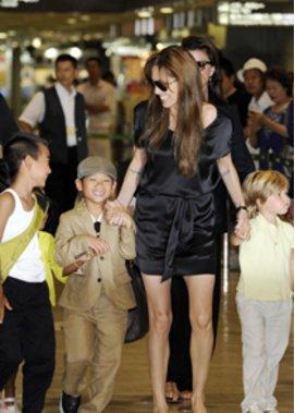 Angelina Jolie: Mutter von sechs Kindern