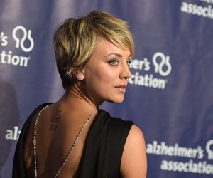 """BEVERLY HILLS, CA - MARCH 18: Actress Kaley Cuoco attends the 23rd Annual """"A Night At Sardi's"""" To Benefit The Alzheimer's Association at The Beverly Hilton Hotel on March 18, 2015 in Beverly Hills, California. (Photo by Jason Kempin/Getty Images)"""