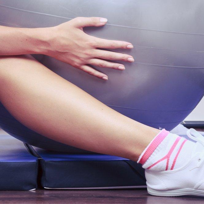 Gymnastikball-Übungen