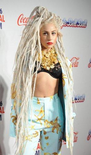 Lady Gaga auf dem roten Teppich