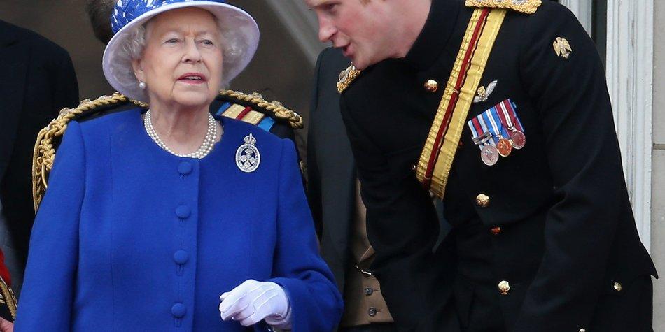 Prinz Harry muss sich wieder rasieren