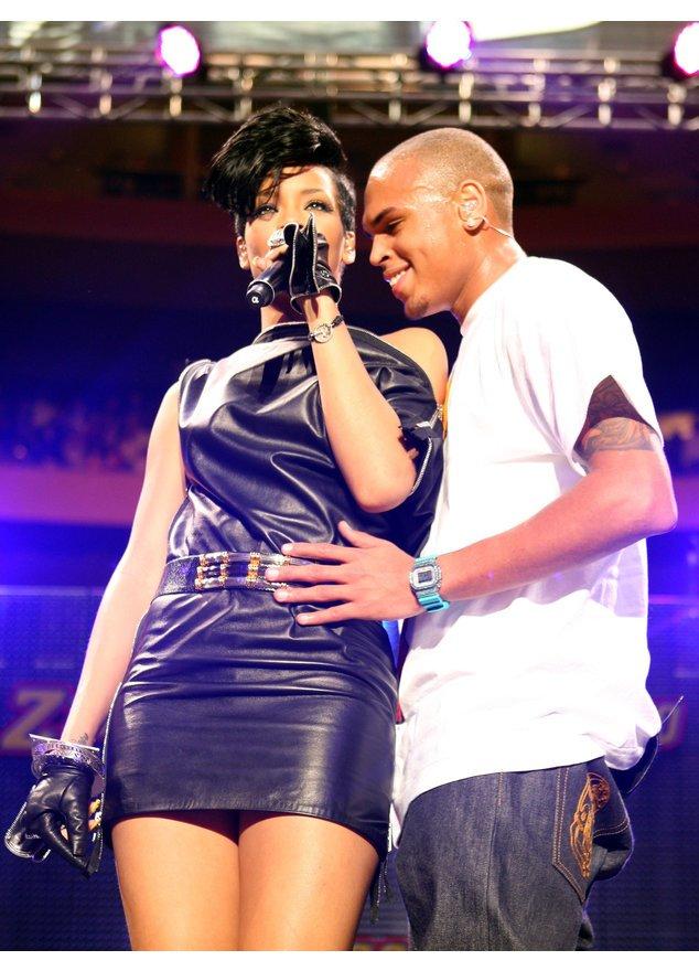 Rihanna hat sich mit Chris Brown versöhnt