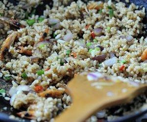 Chinesische Reispfanne