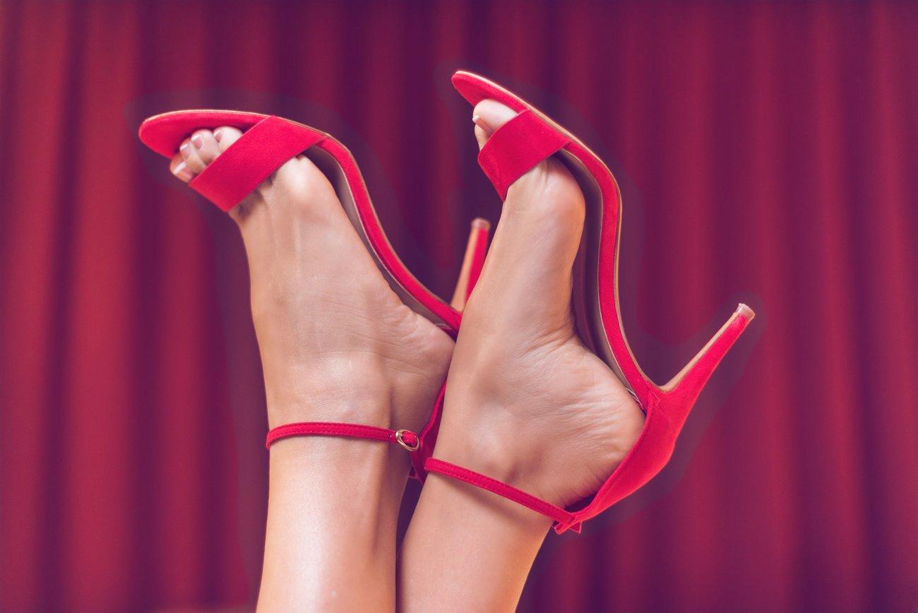 Füße High Heels Fetisch