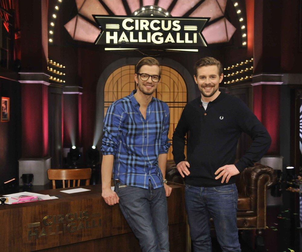 Circus HalliGalli: Joko und Klaas starten mit Traumquoten