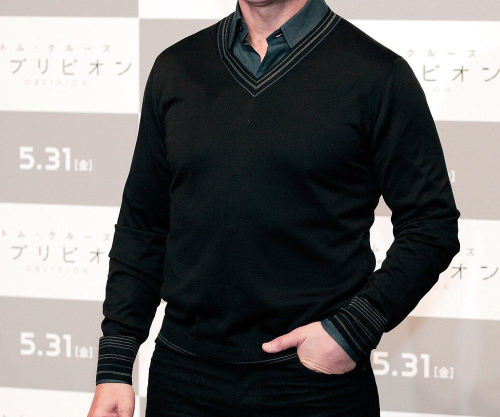Tom Cruise spielt den Eifersüchtigen bei Katie Holmes