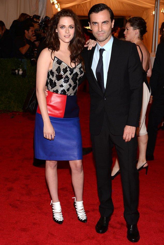 Louis Vuitton-Desinger Nicolas Ghesquière mit Kristen Stewart