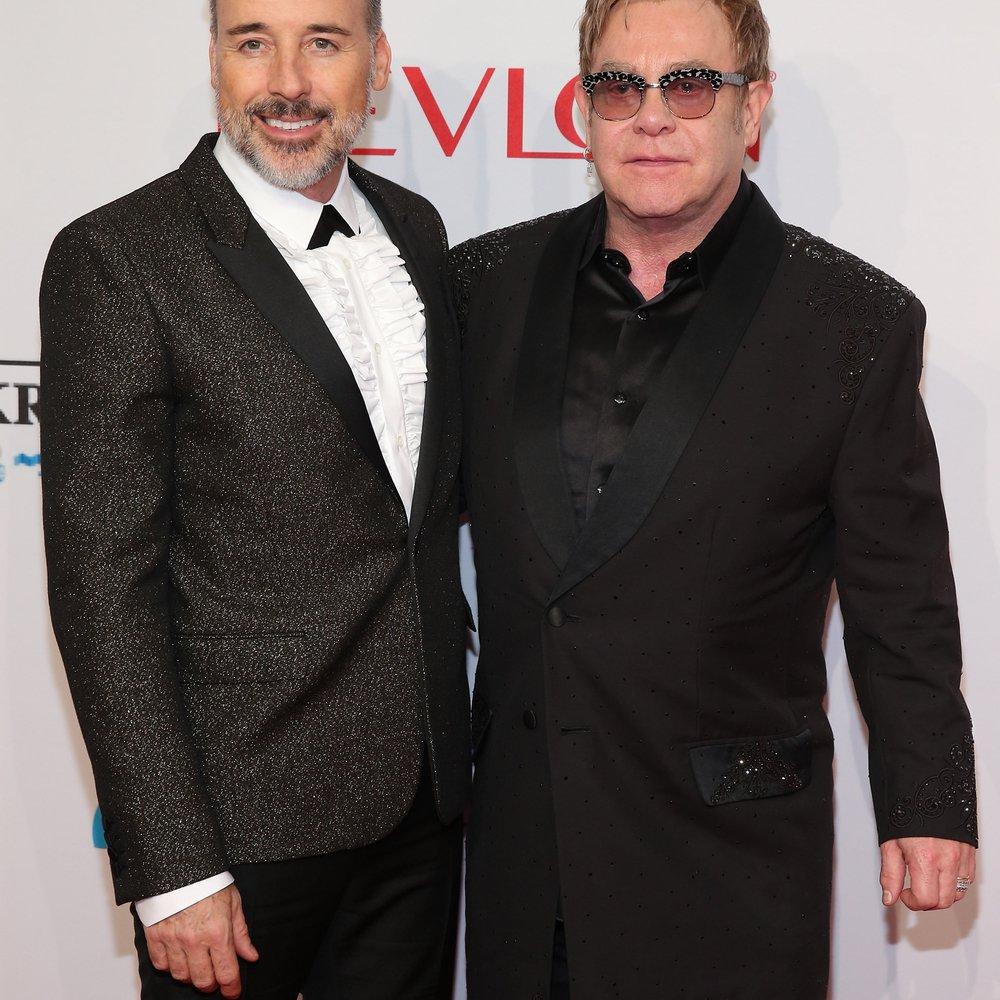 Elton John: Heiratet er noch an diesem Wochenende?