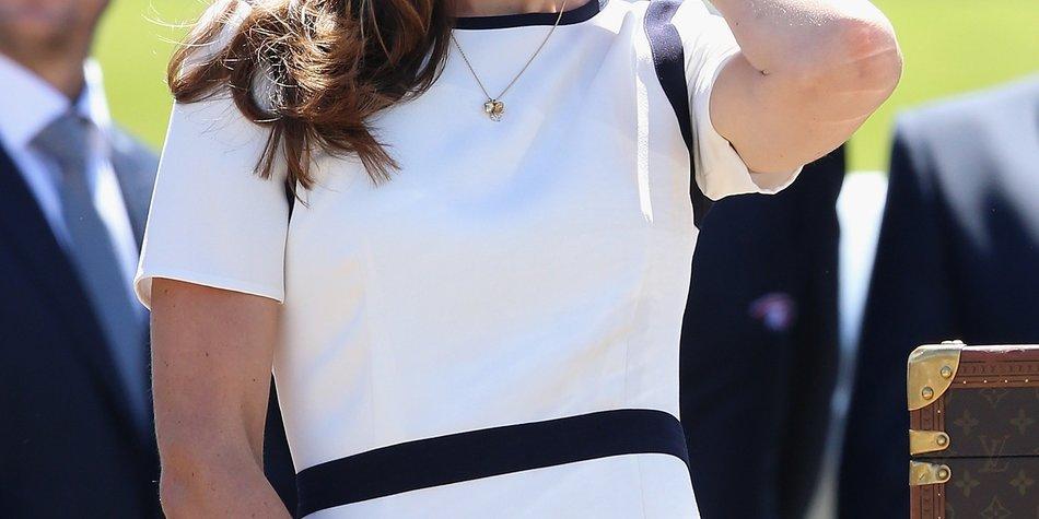 Kate Middleton ist ein Segelfan