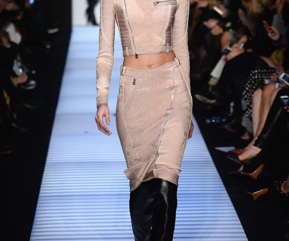 New York Fashion Week: Herve Leger schnürt weiter