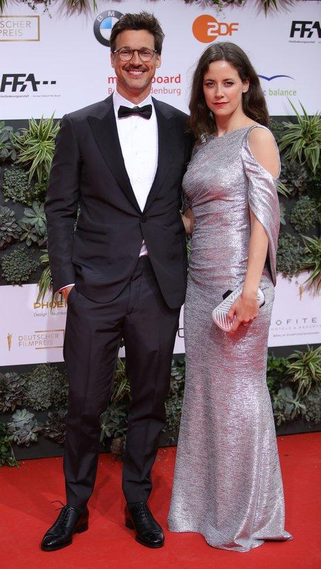 Florian David Fitz und Anja Knaur