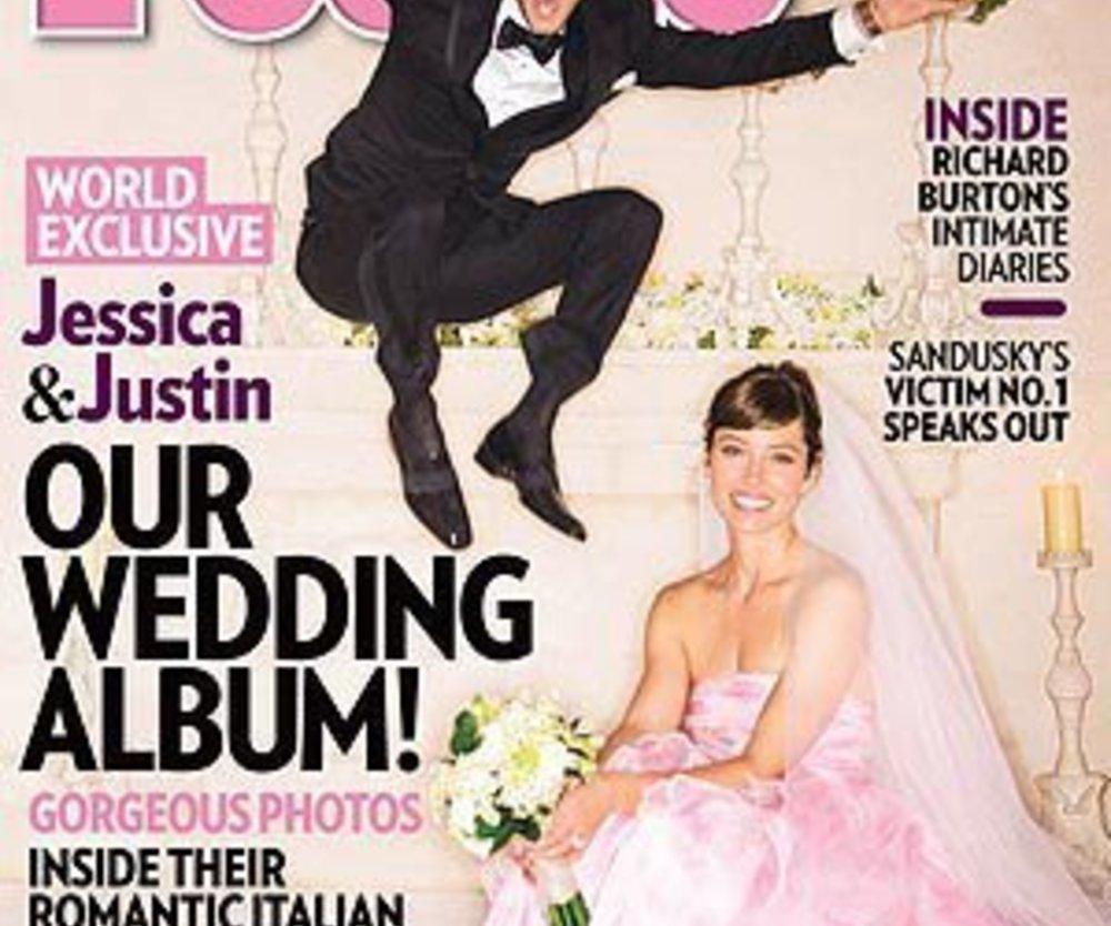 Justin Timberlake und Jessica Biel: Erstes Hochzeitsfoto!