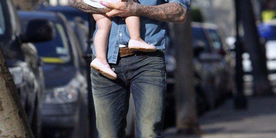 David Beckham ist ein ganz normaler Dad