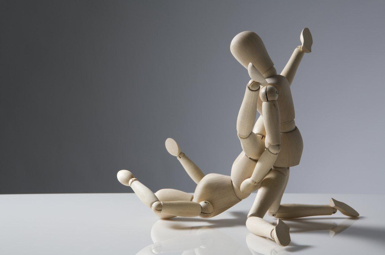 Sex Holzfiguren