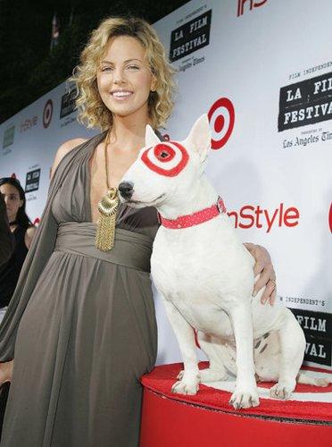 Die Bambi-Gewinnerin Charlize Theron