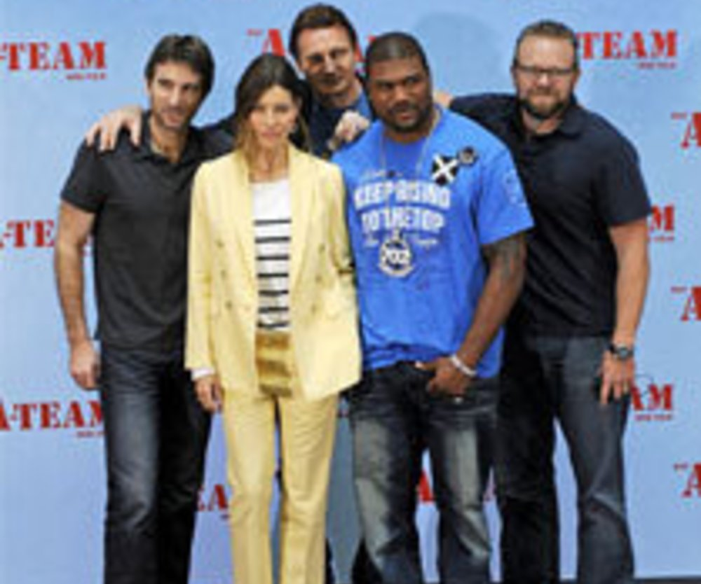 Das A-Team: Premiere in Berlin