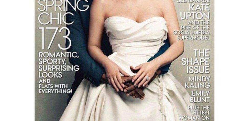 Kim Kardashian ist auf dem Cover der Vogue