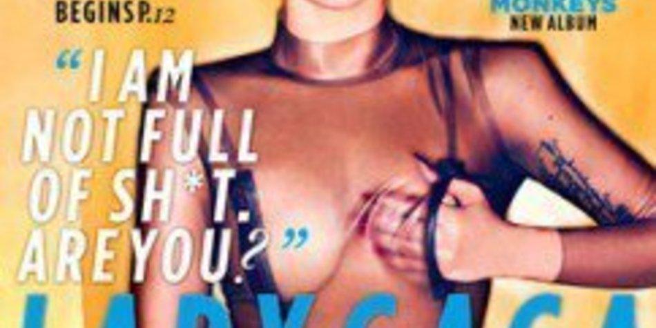 Lady Gaga: Freizügig auf NME-Cover