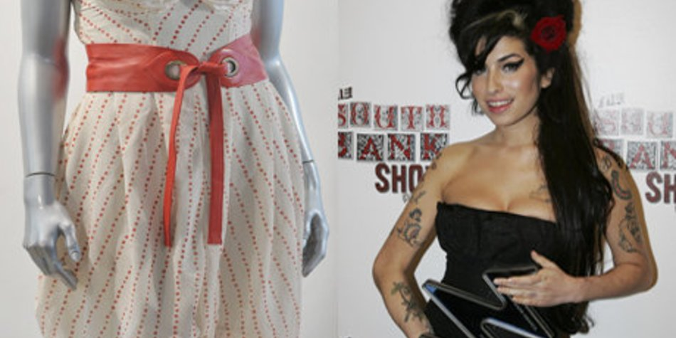 Amy Winehouse: Kleid versteigert