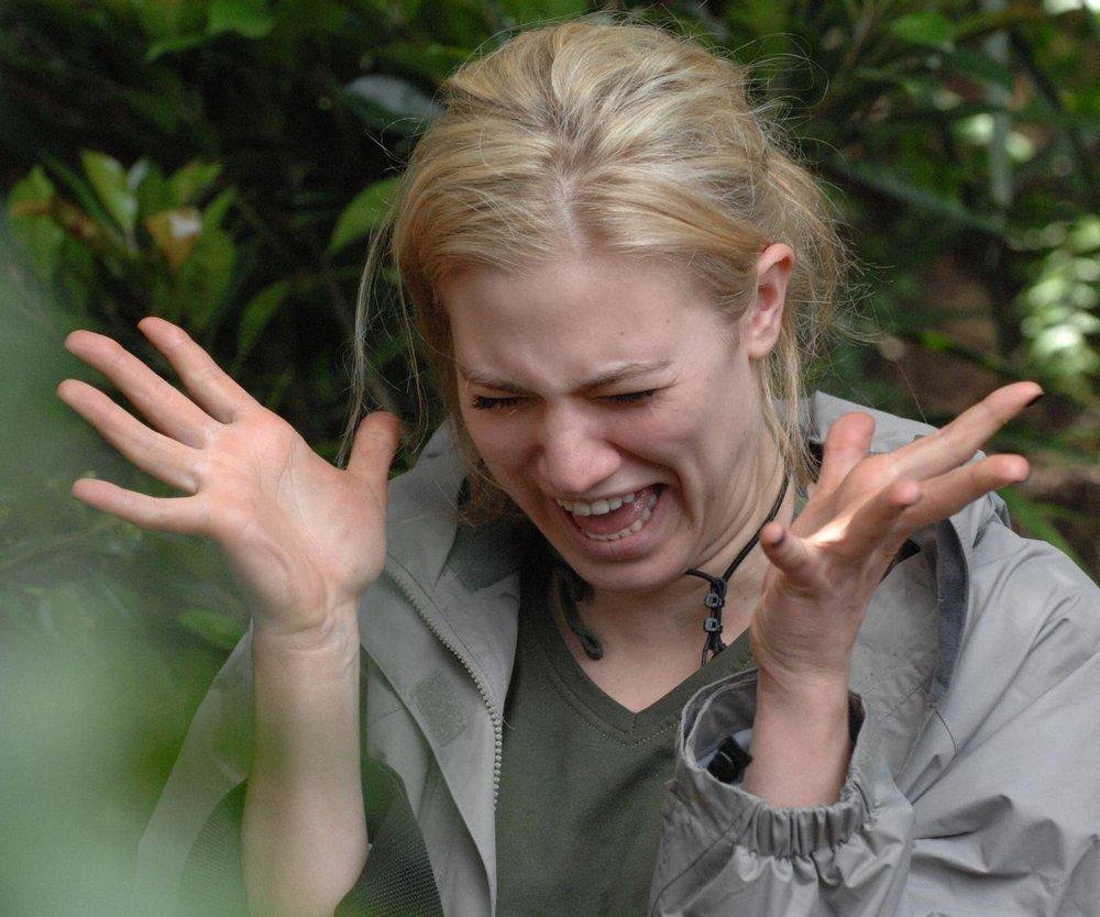 Dschungelcamp: Larissa im Prüfungsmarathon